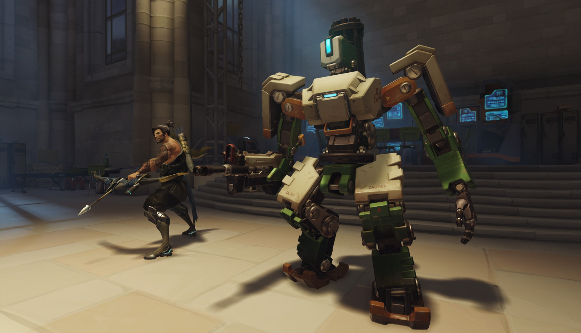 Overwatch : Bastion Wallpapers
