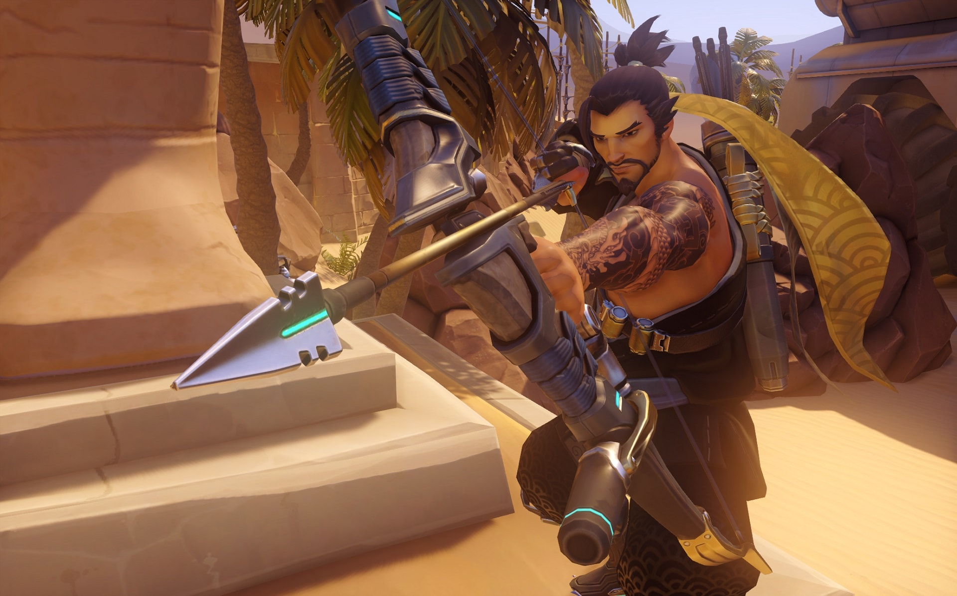 Overwatch : Hanzo widescreen wallpapers