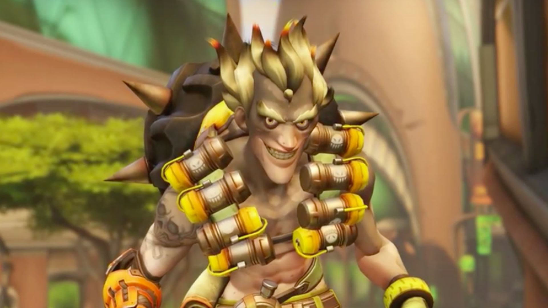Overwatch : Junkrat widescreen wallpapers