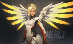Overwatch : Mercy widescreen wallpapers