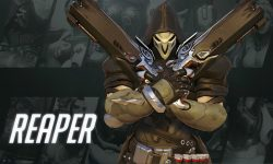 Overwatch : Reaper widescreen wallpapers