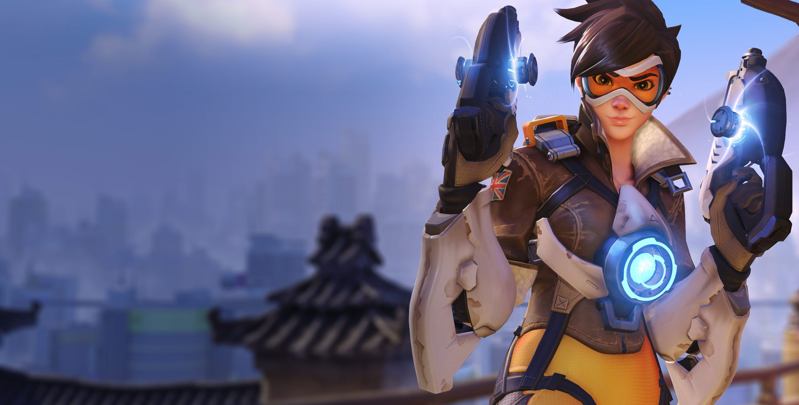 Overwatch : Tracer widescreen wallpapers