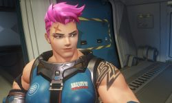 Overwatch : Zarya widescreen wallpapers