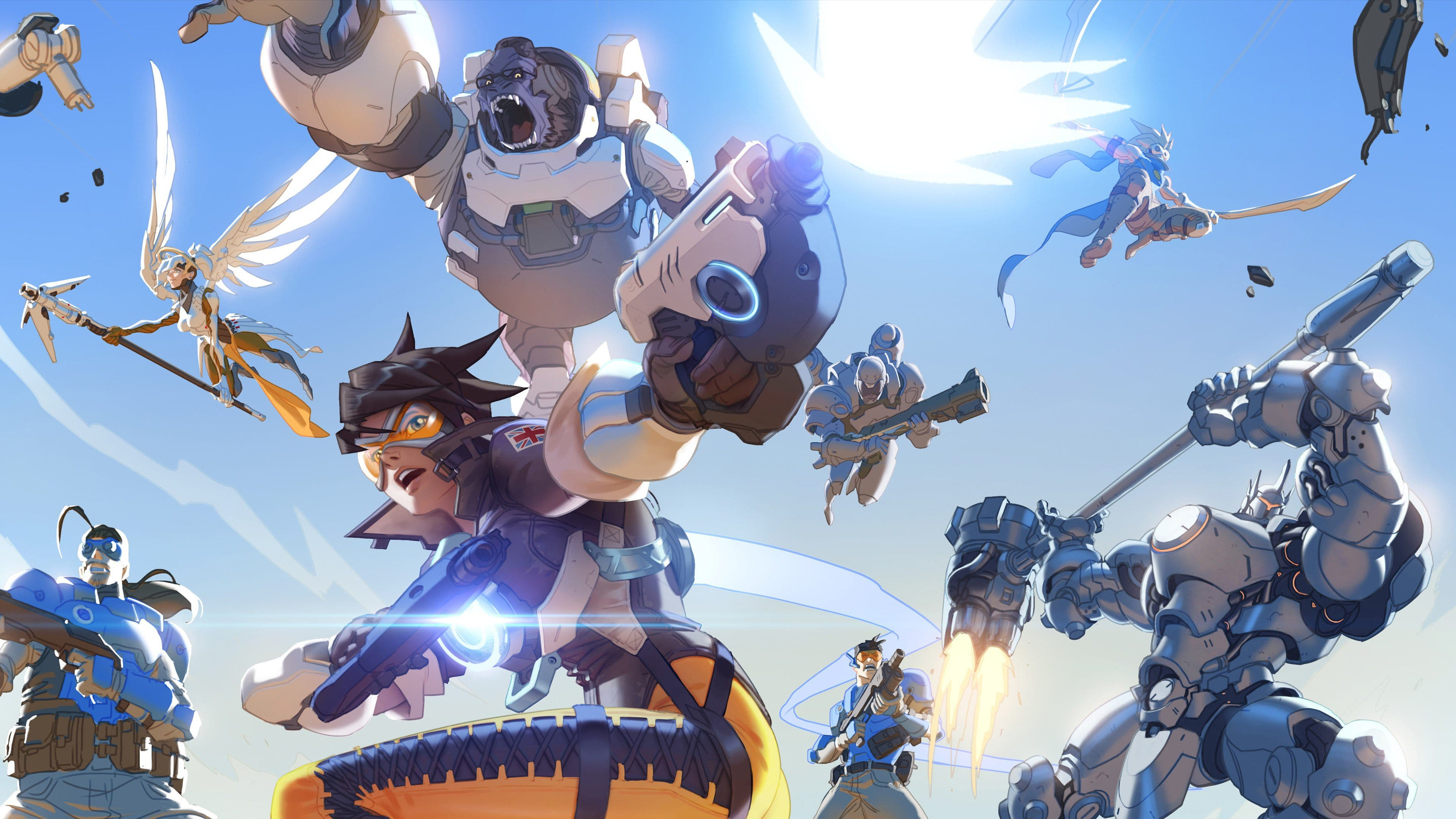 Overwatch widescreen wallpapers