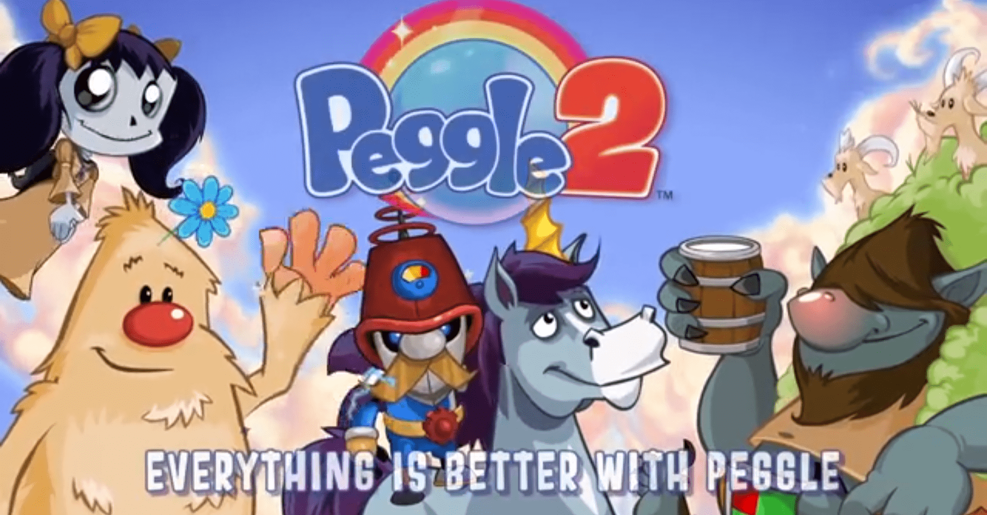 Peggle 2 widescreen wallpapers