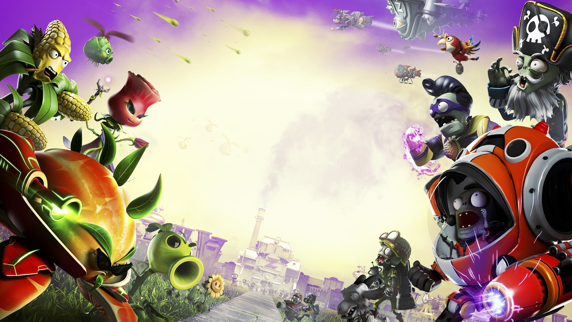 plants vs. zombies: garden warfare 2 hd desktop wallpapers