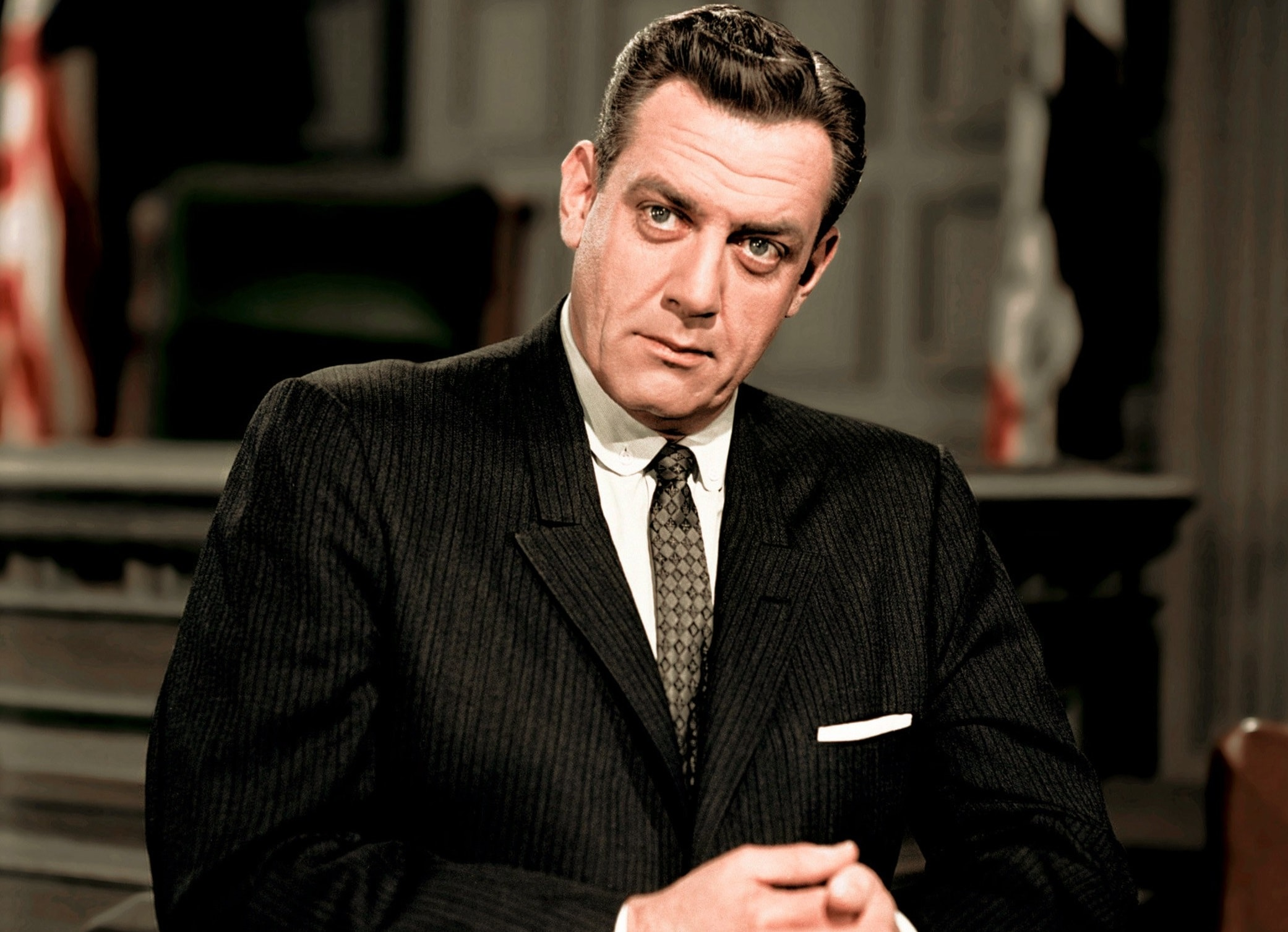 Raymond Burr widescreen wallpapers