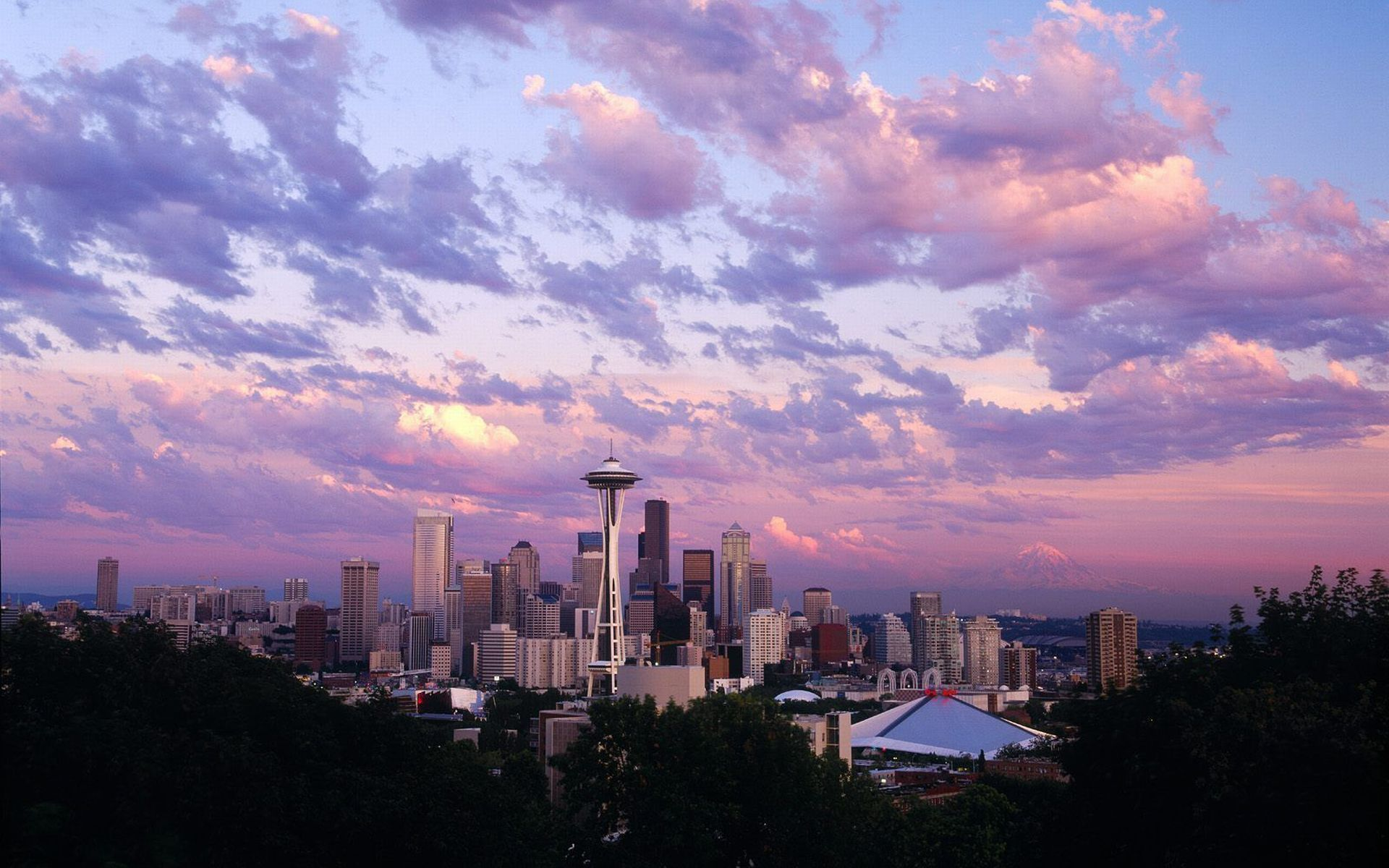 Seattle widescreen wallpapers
