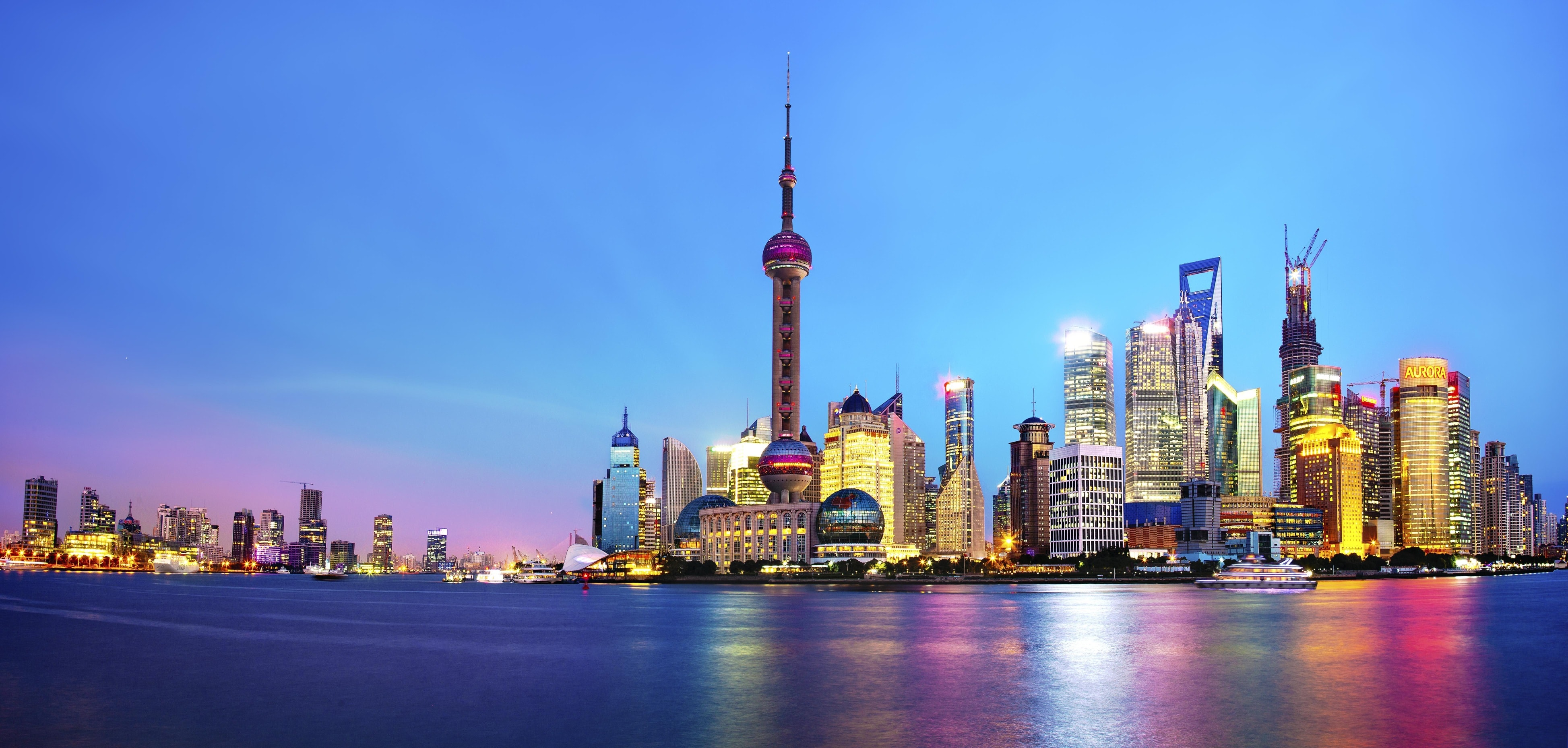 Shanghai widescreen wallpapers