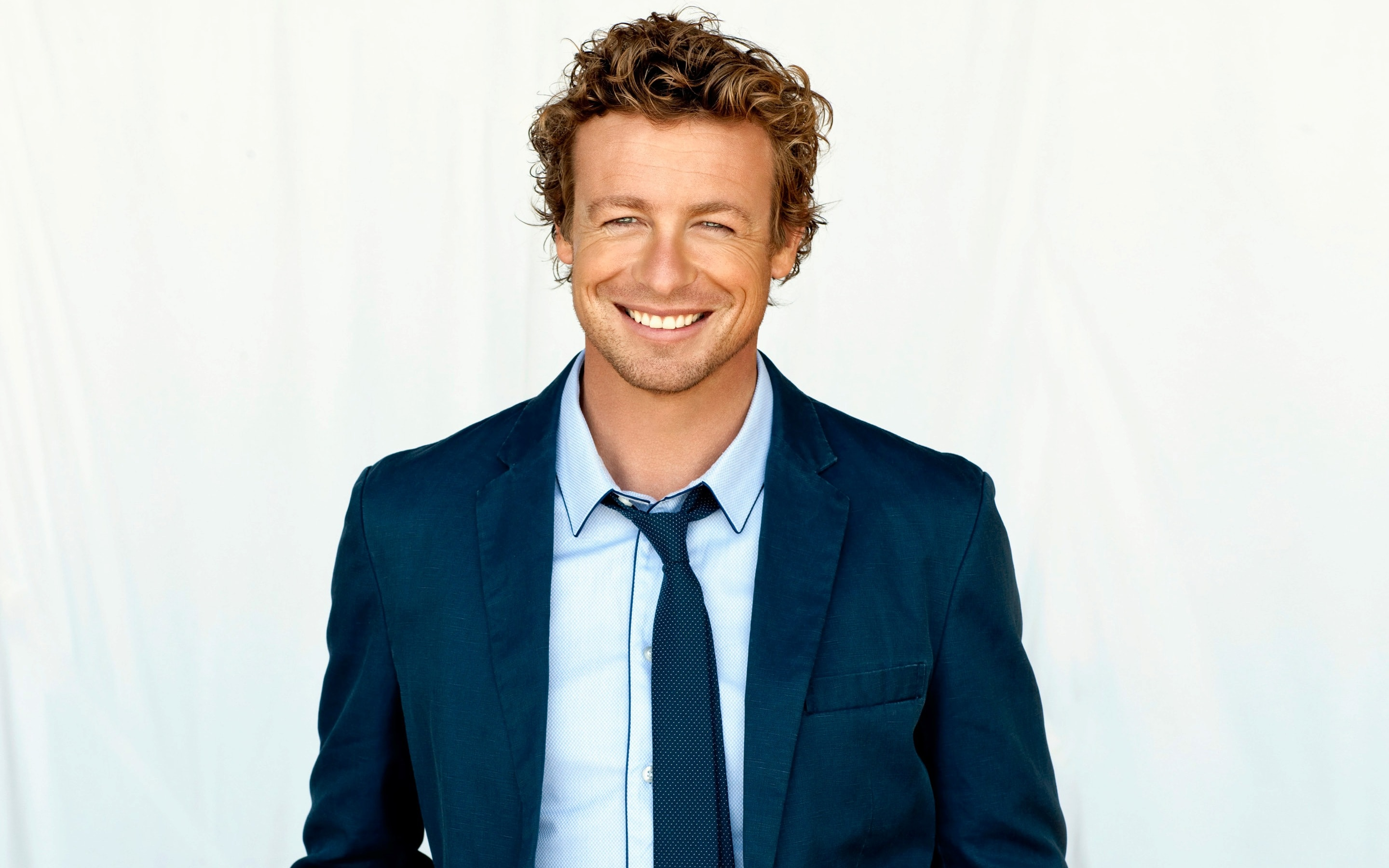 Simon Baker widescreen wallpapers