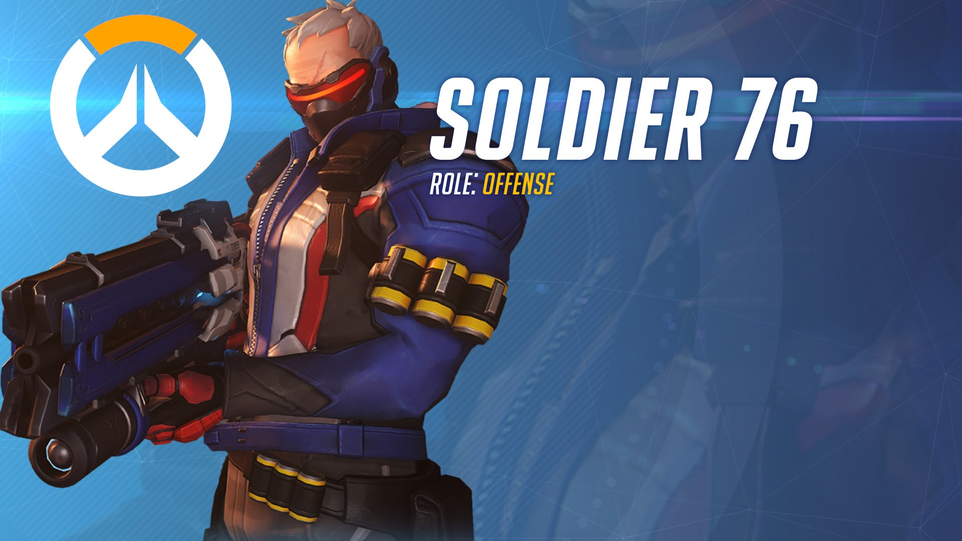 Overwatch : Soldier: 76 widescreen wallpapers