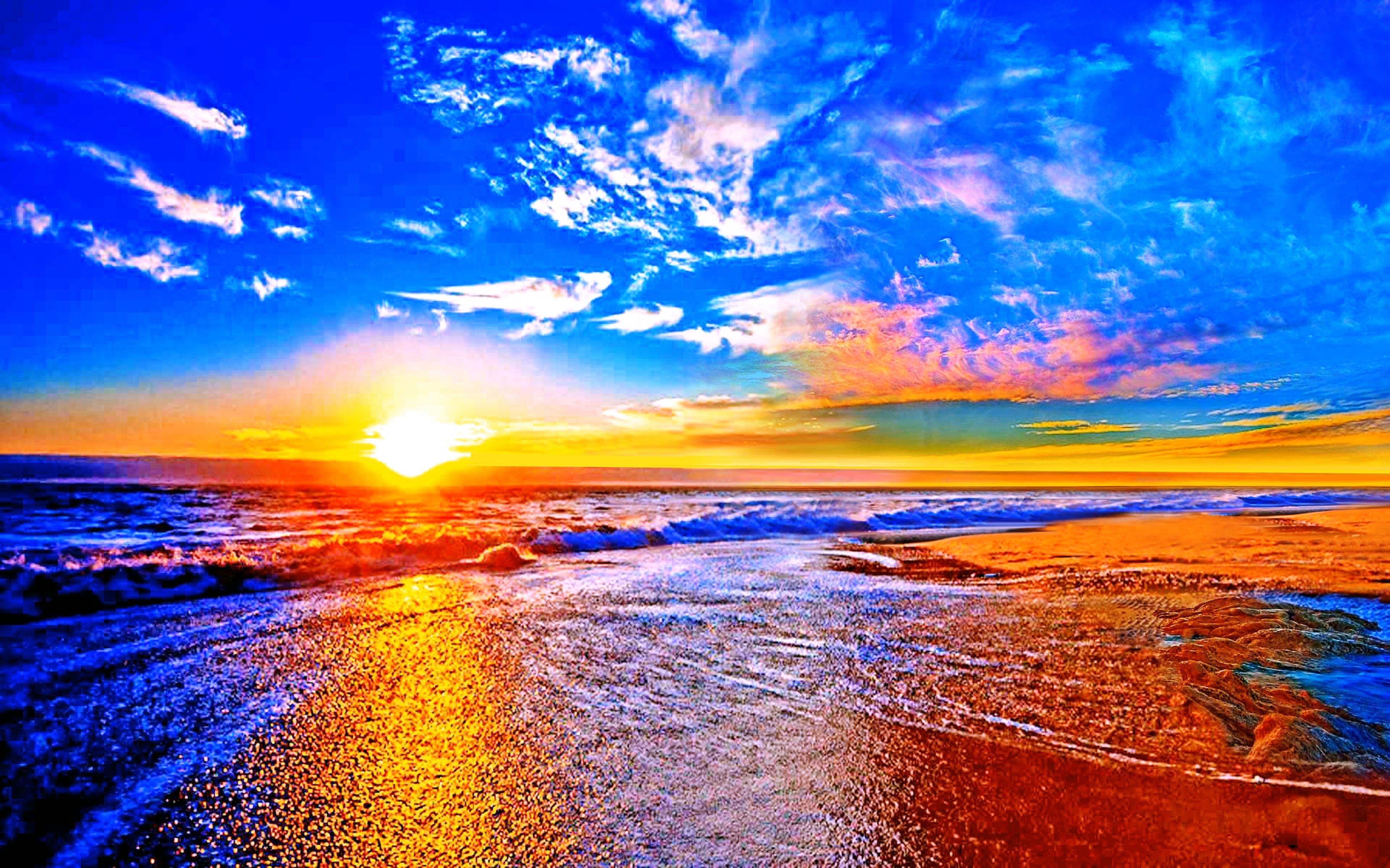 Sunset widescreen wallpapers