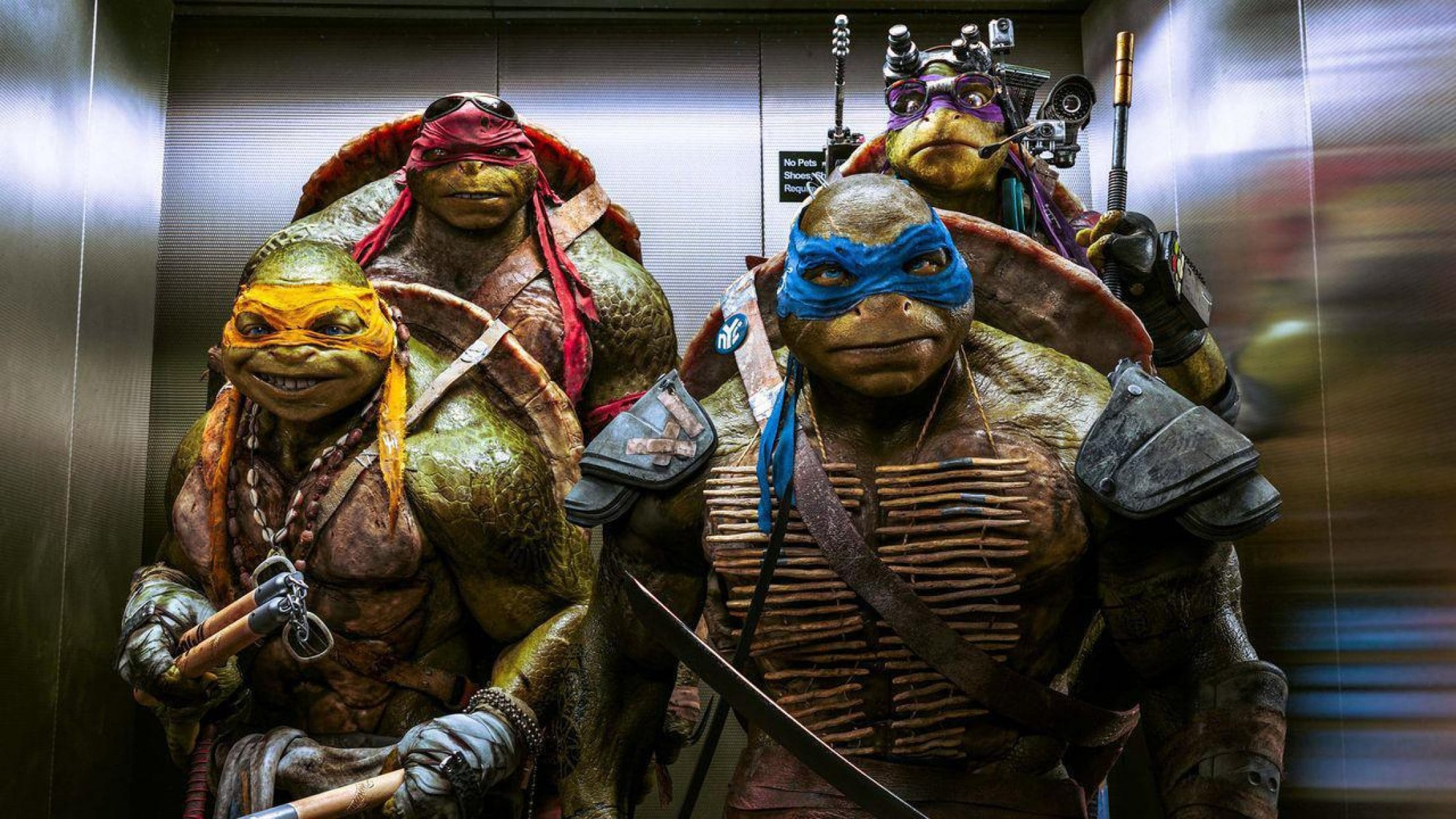 Teenage Mutant Ninja Turtles: Out of the Shadows widescreen wallpapers