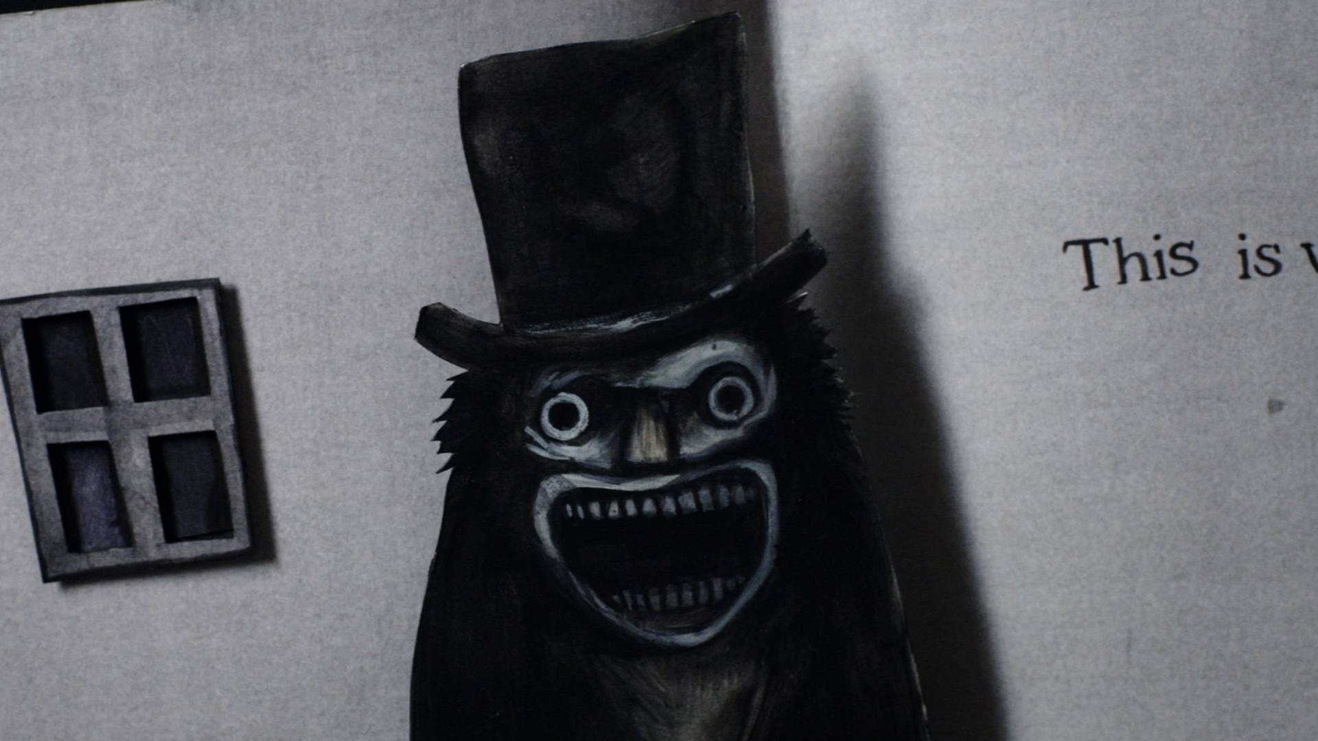 The Babadook widescreen wallpapers