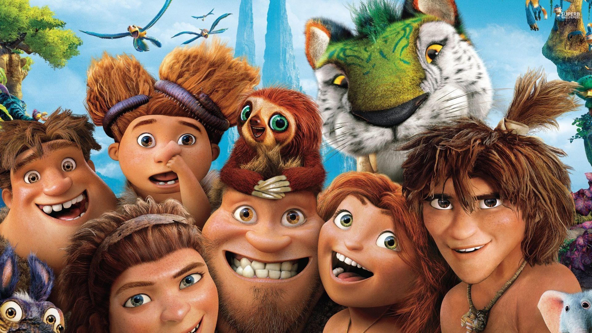 The Croods 2 widescreen wallpapers
