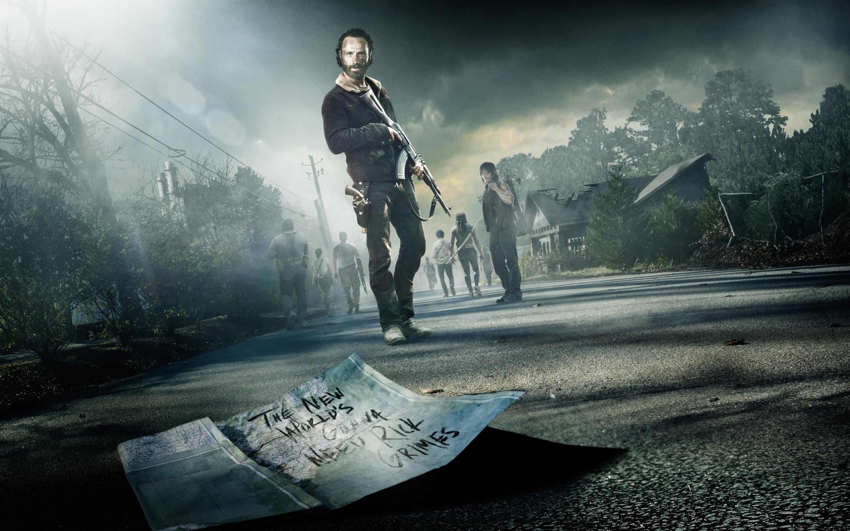 The Walking Dead widescreen wallpapers