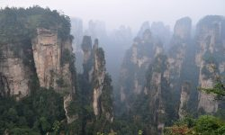Tianzi Mountain widescreen wallpapers