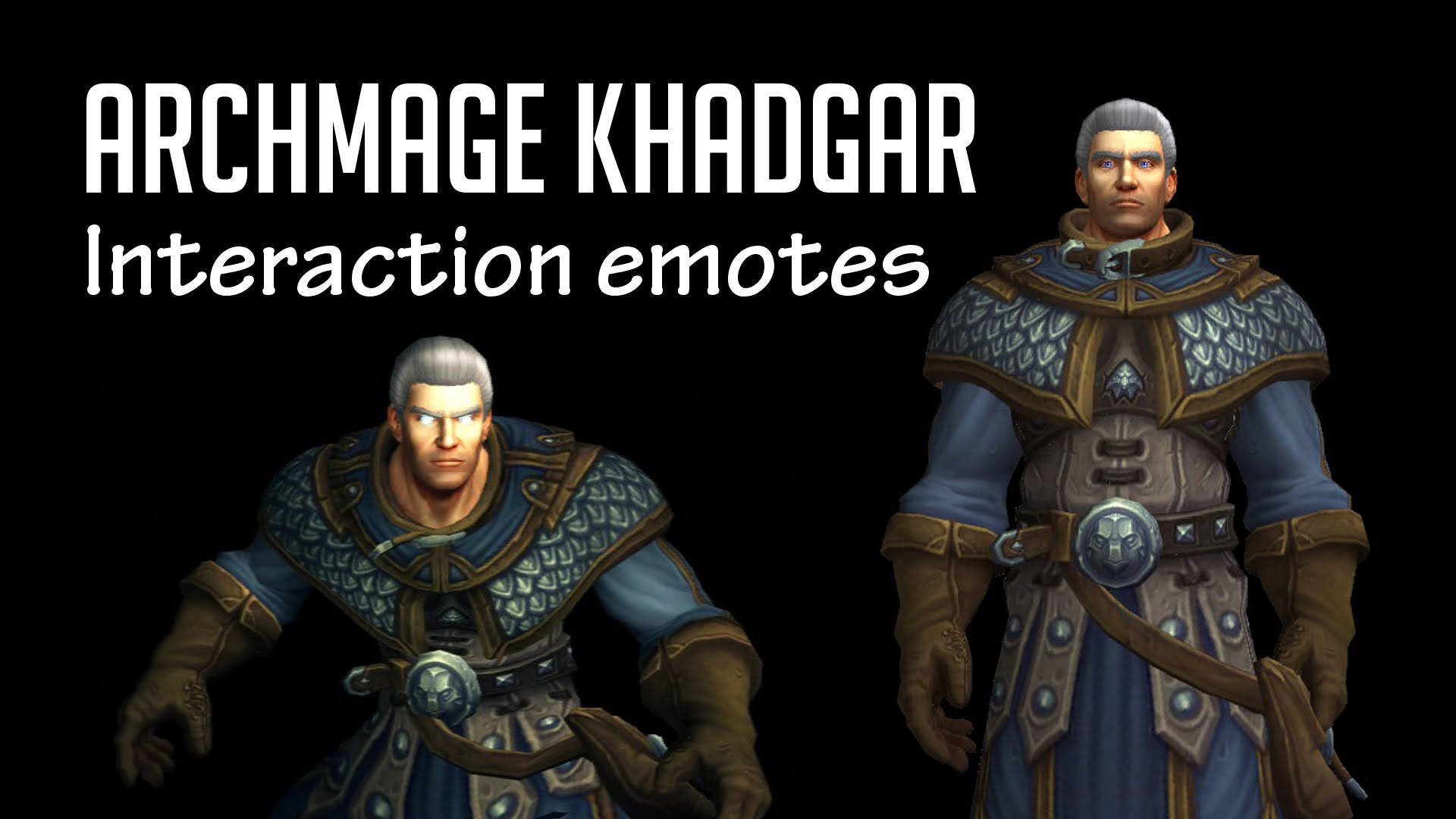 WOW: Archmage Khadgar widescreen wallpapers