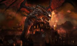 WOW: Deathwing widescreen wallpapers