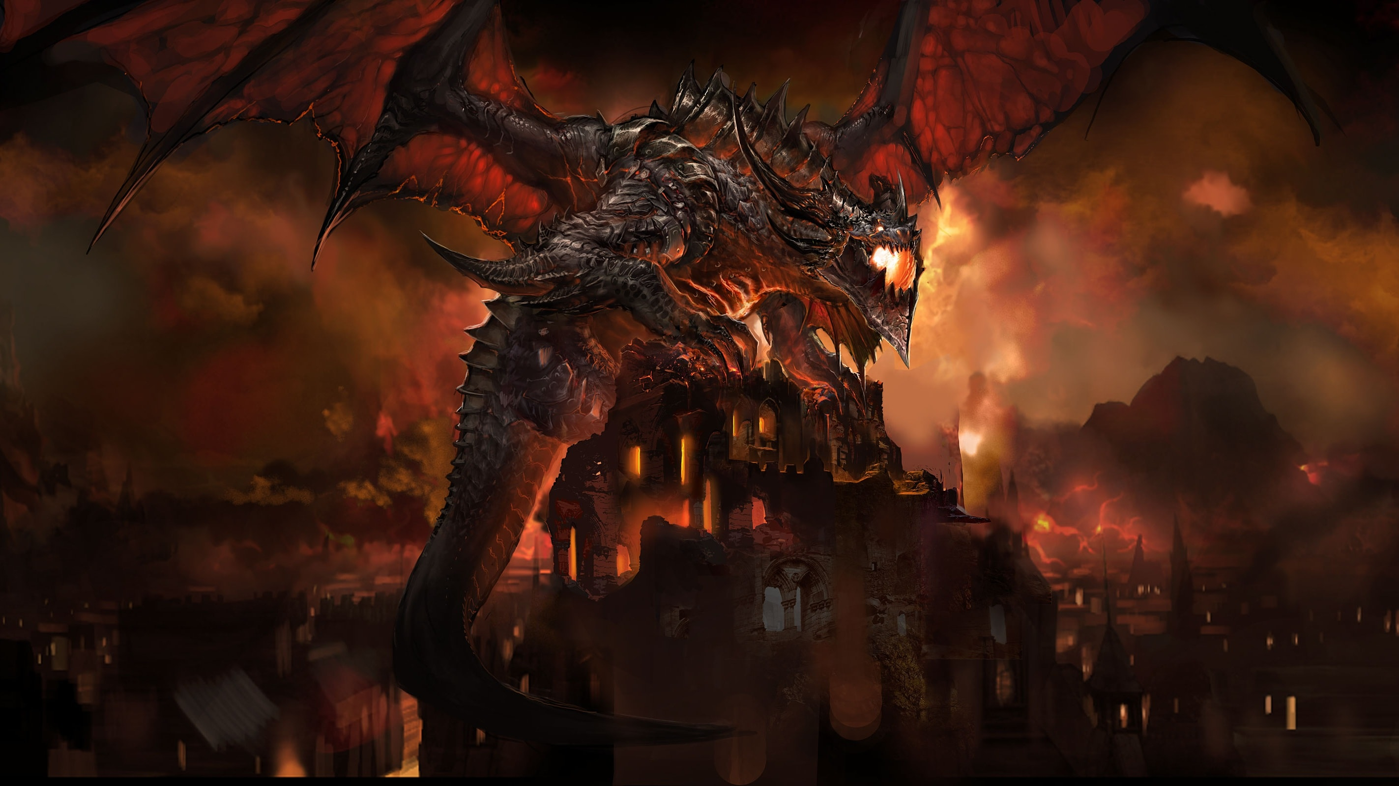 WOW: Deathwing HD Wallpapers