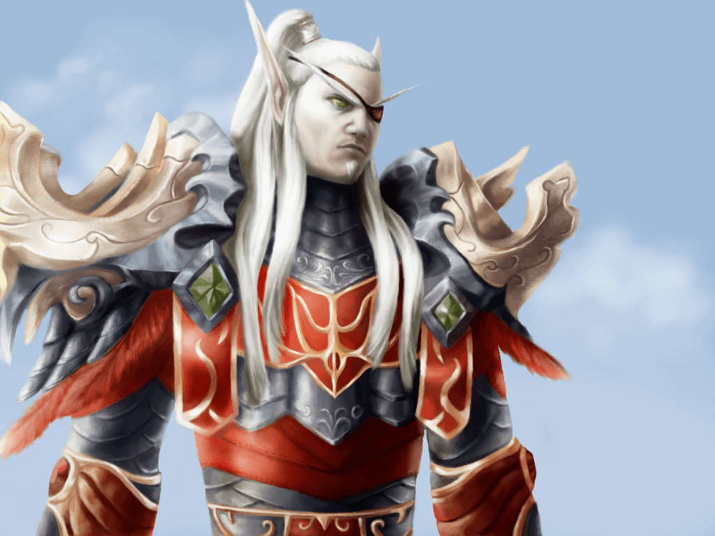 WOW: Lor'themar Theron HQ wallpapers