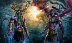 WOW: Malfurion Stormrage widescreen wallpapers