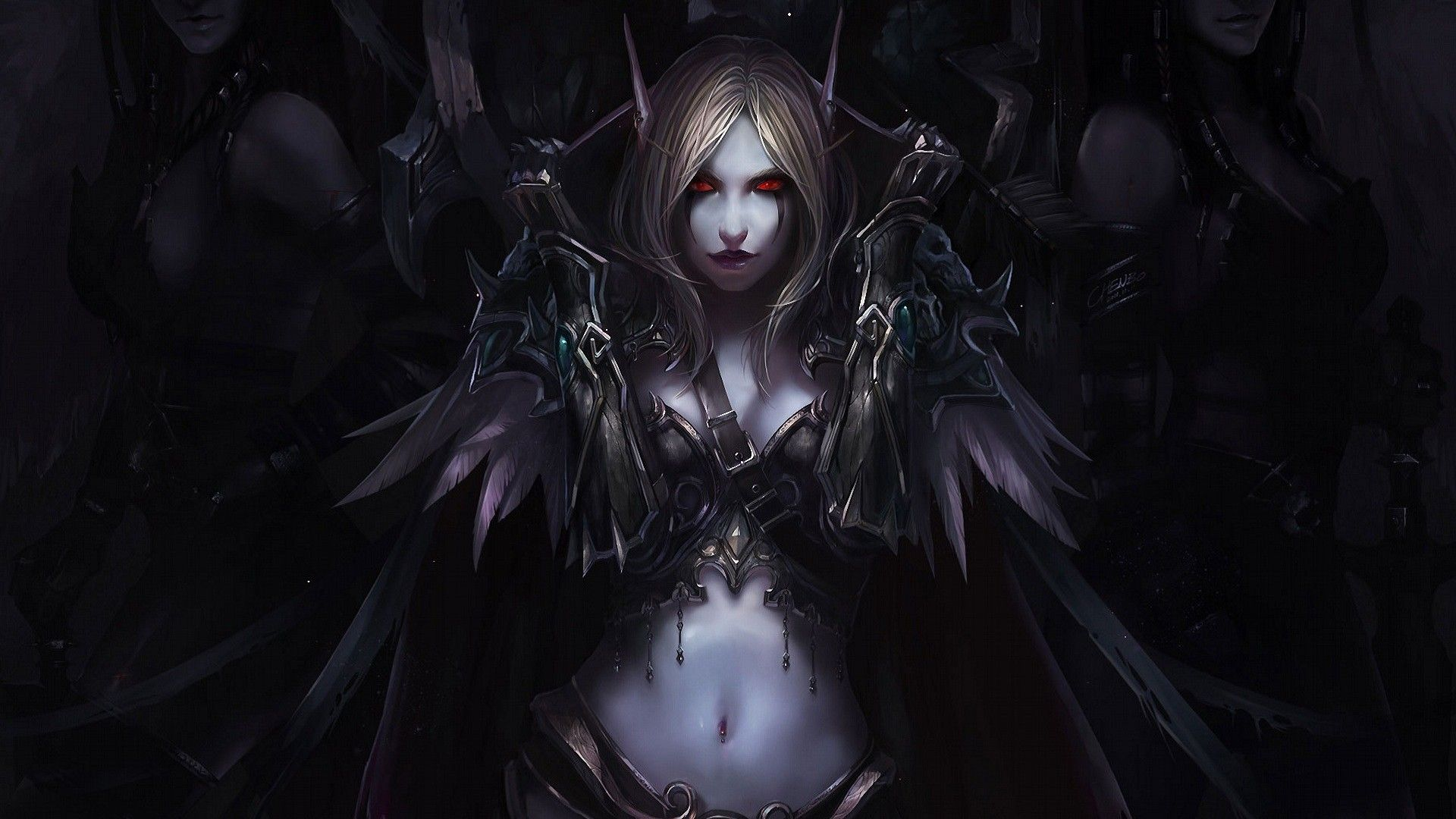WOW: Sylvanas Windrunner widescreen wallpapers