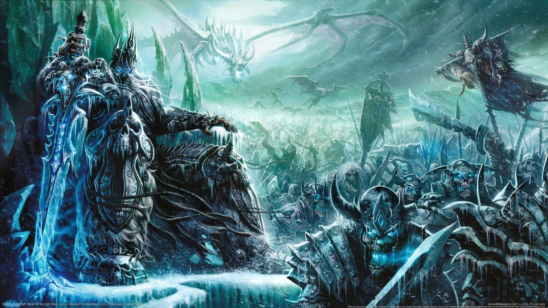 WOW: The Lich King widescreen wallpapers