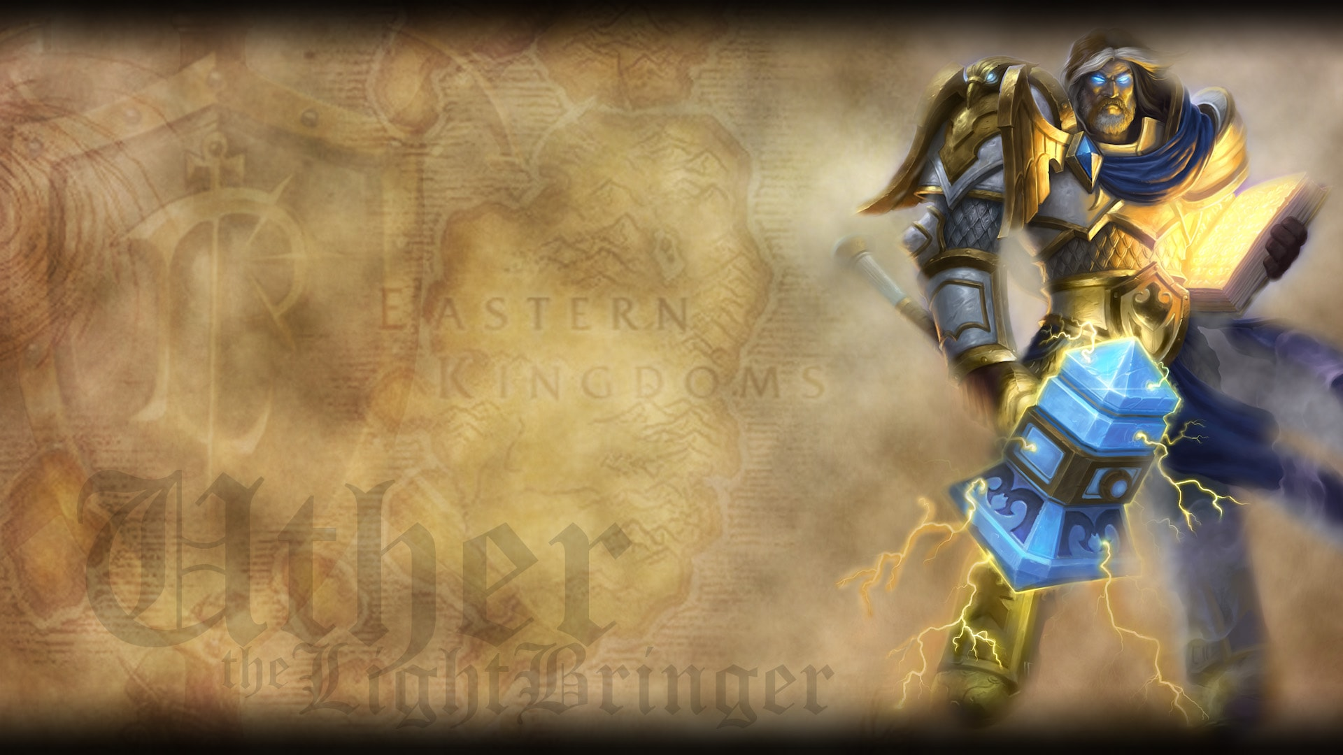 WOW: Uther the Lightbringer widescreen wallpapers