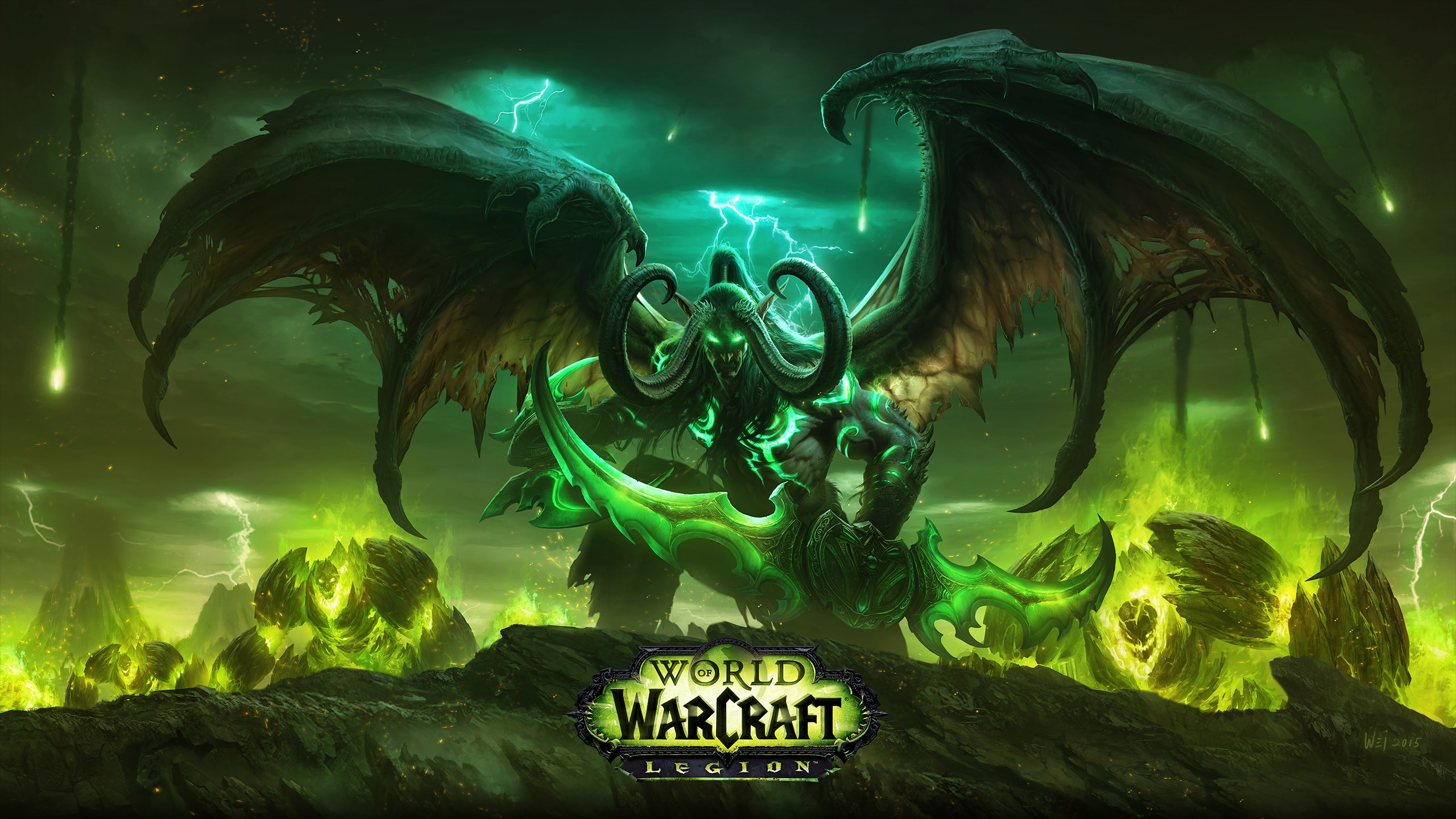 World of Warcraft: Legion widescreen wallpapers