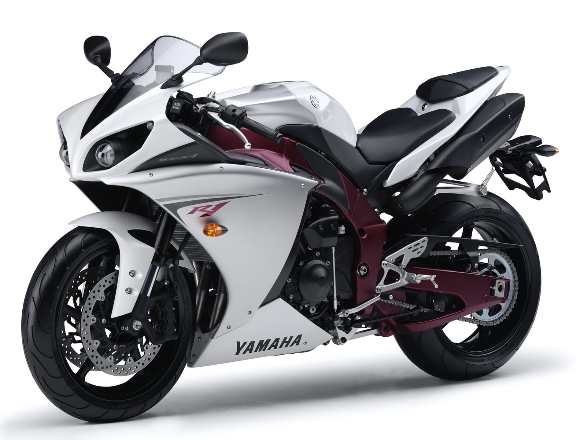 Yamaha YZF-R1 2012 widescreen wallpapers