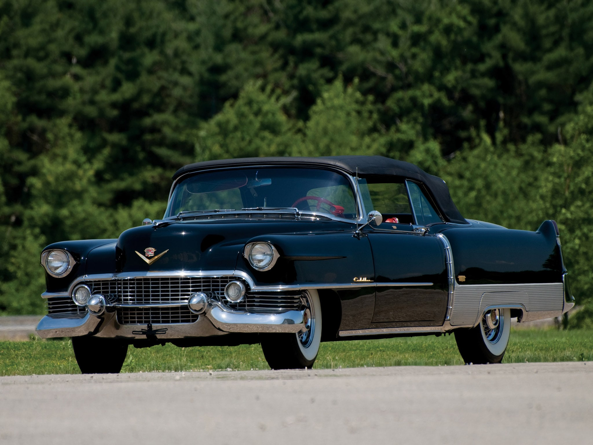 1954 Cadillac Eldorado Hd Desktop Wallpapers Sedan Deville Widescreen Pictures