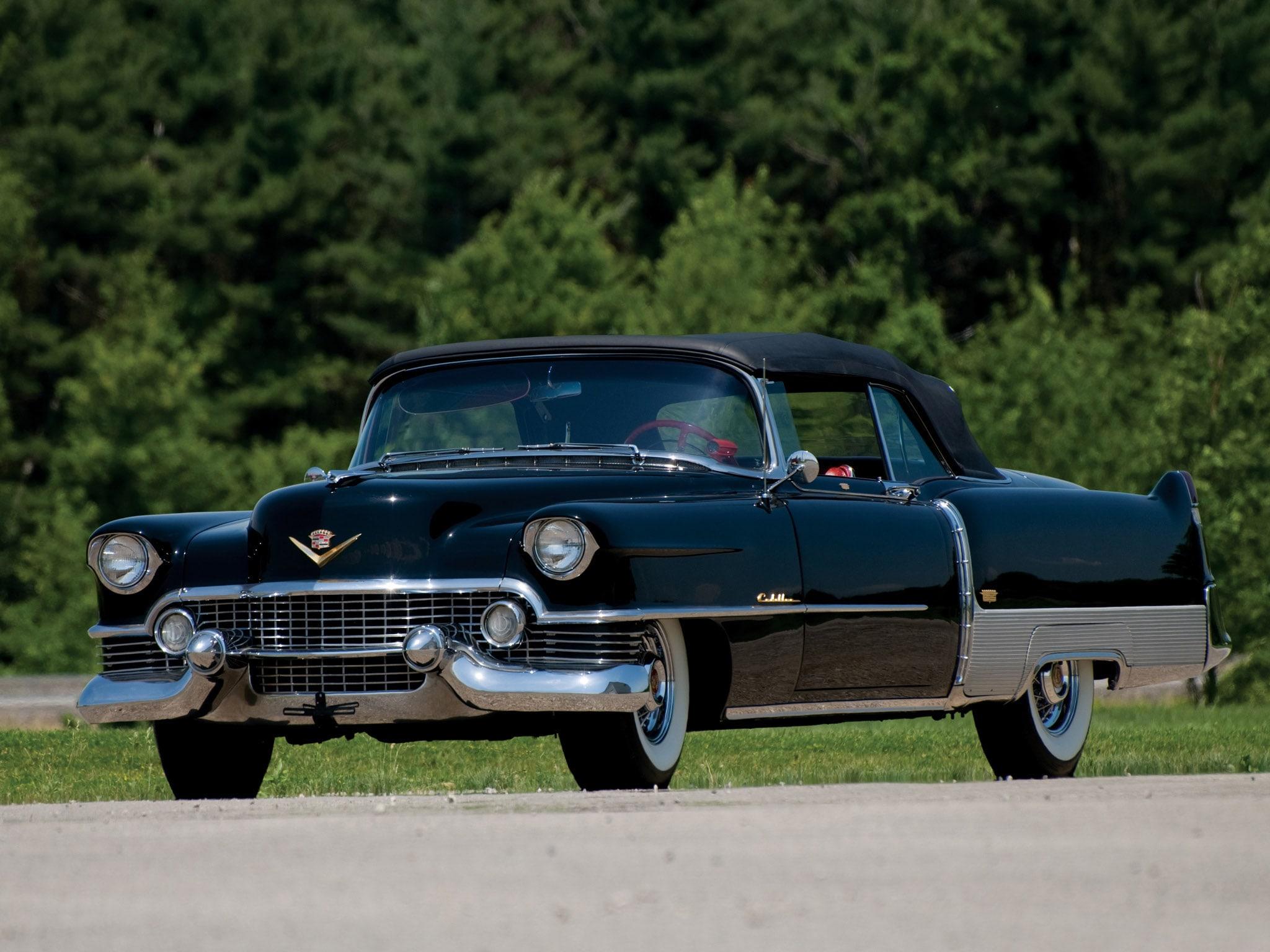 1954 Cadillac Eldorado Hd Desktop Wallpapers Sedan Deville Widescreen Pictures