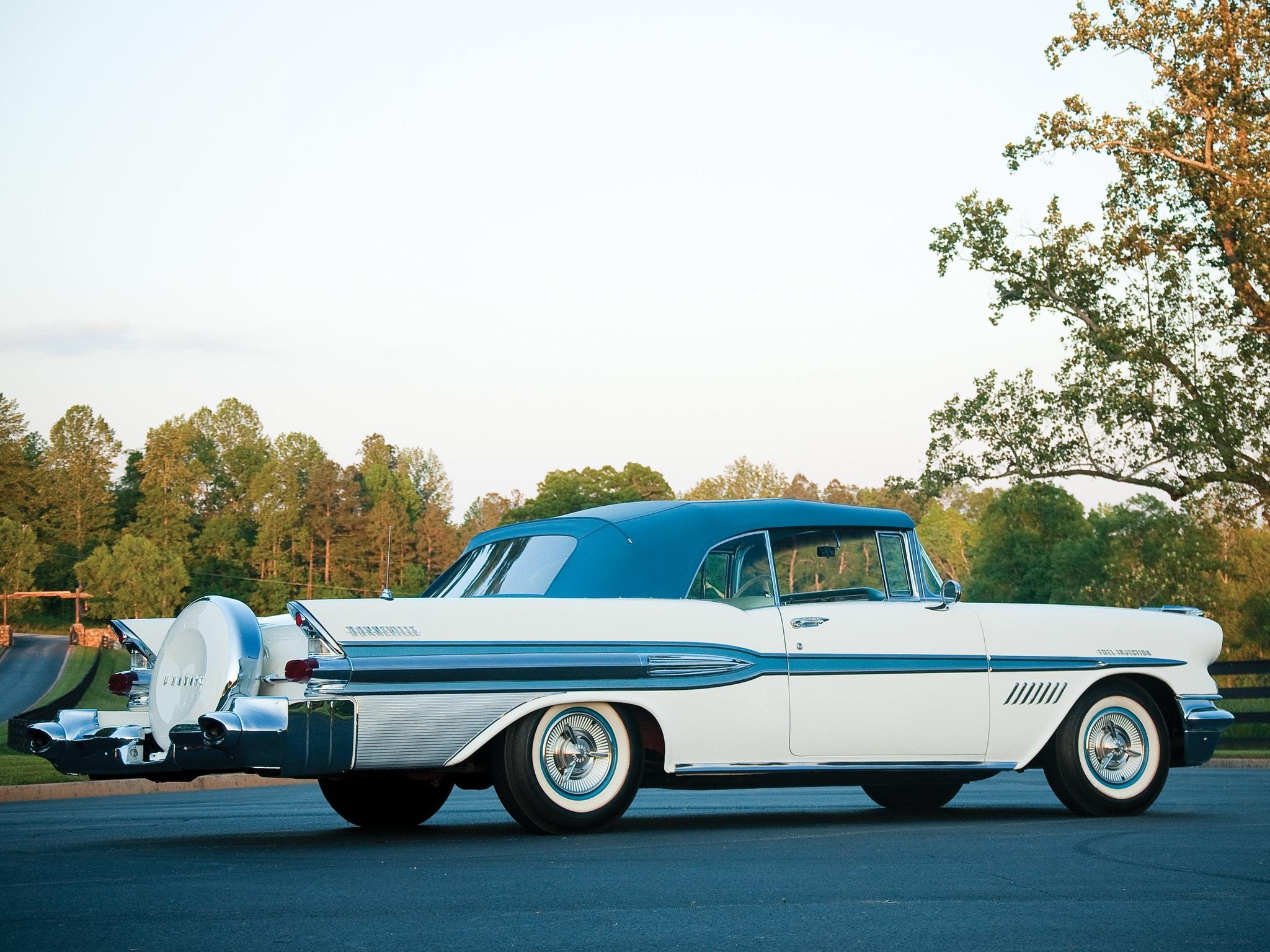1957 Pontiac Star Chief Custom Bonneville Pictures