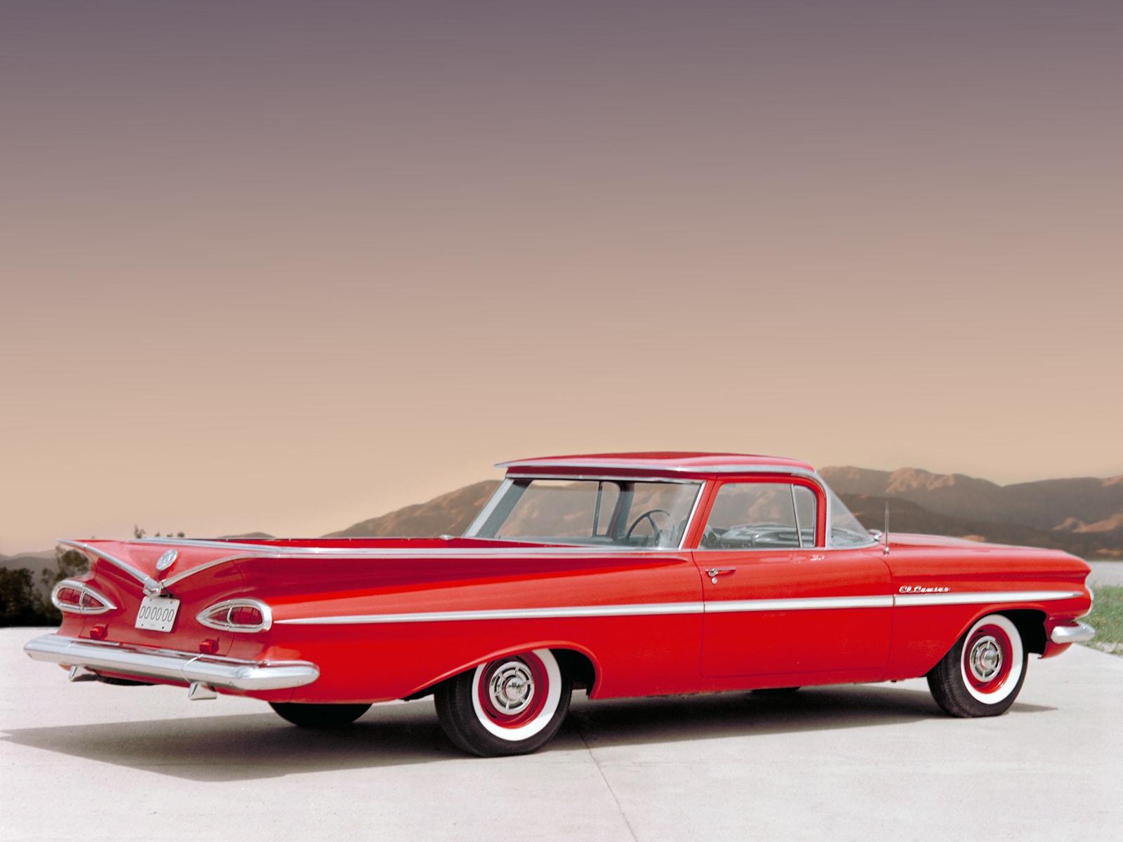 1959 Chevrolet El Camino Pictures