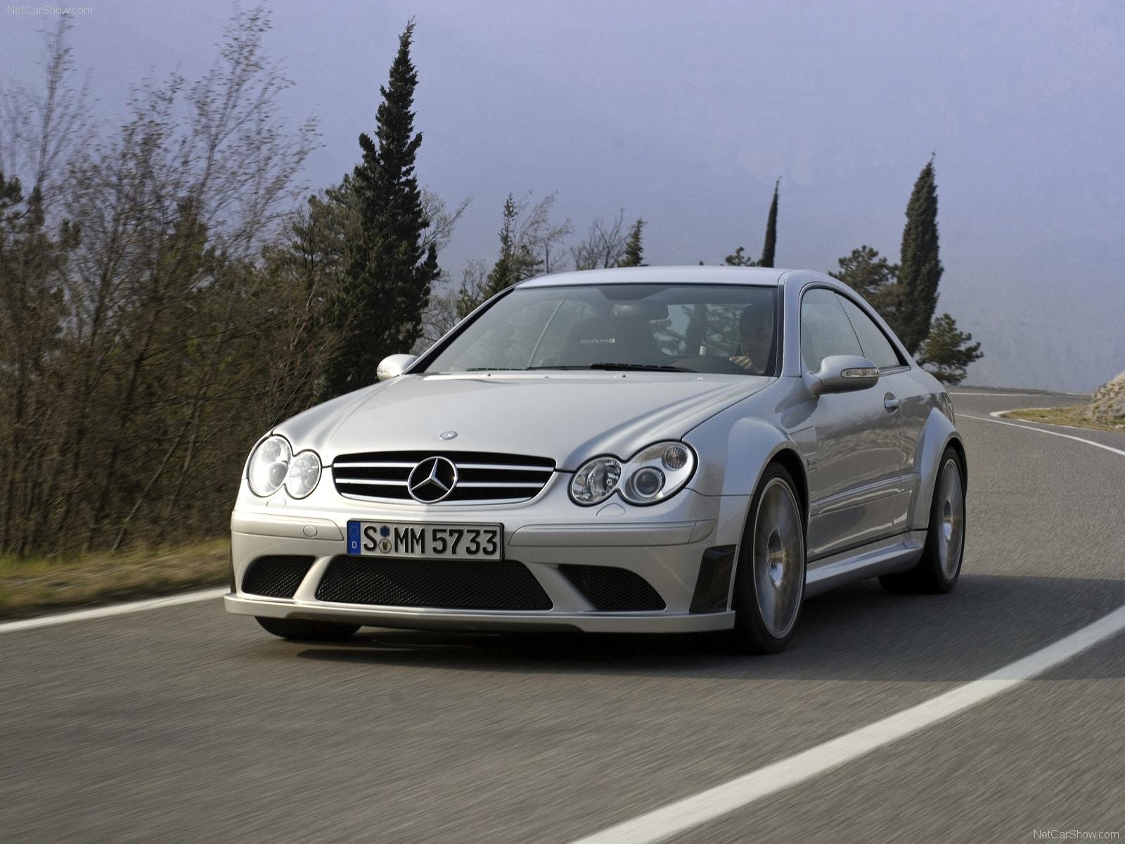 2008 Mercedes-Benz CLK63 AMG Black Series Pictures