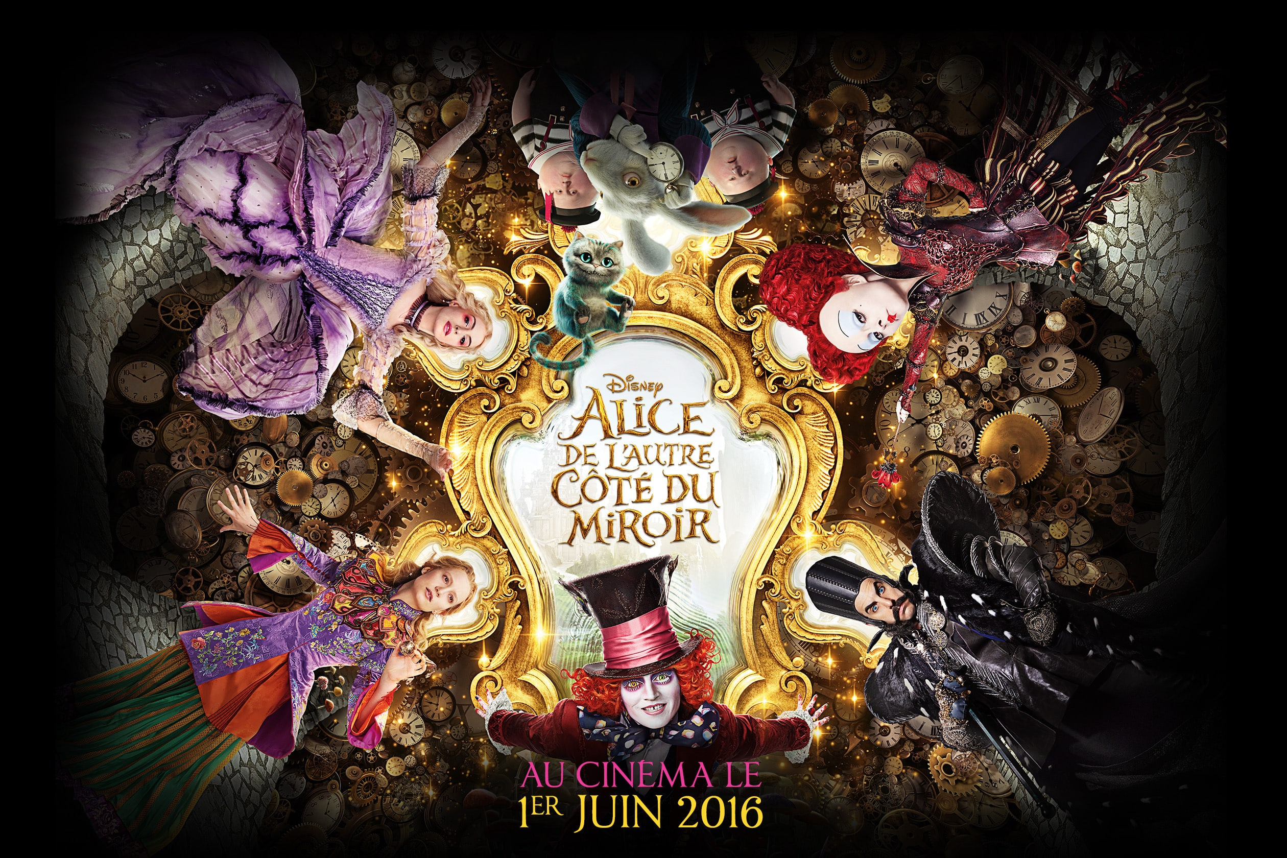 Alice Through The Looking Glass Wallpapers Pictures