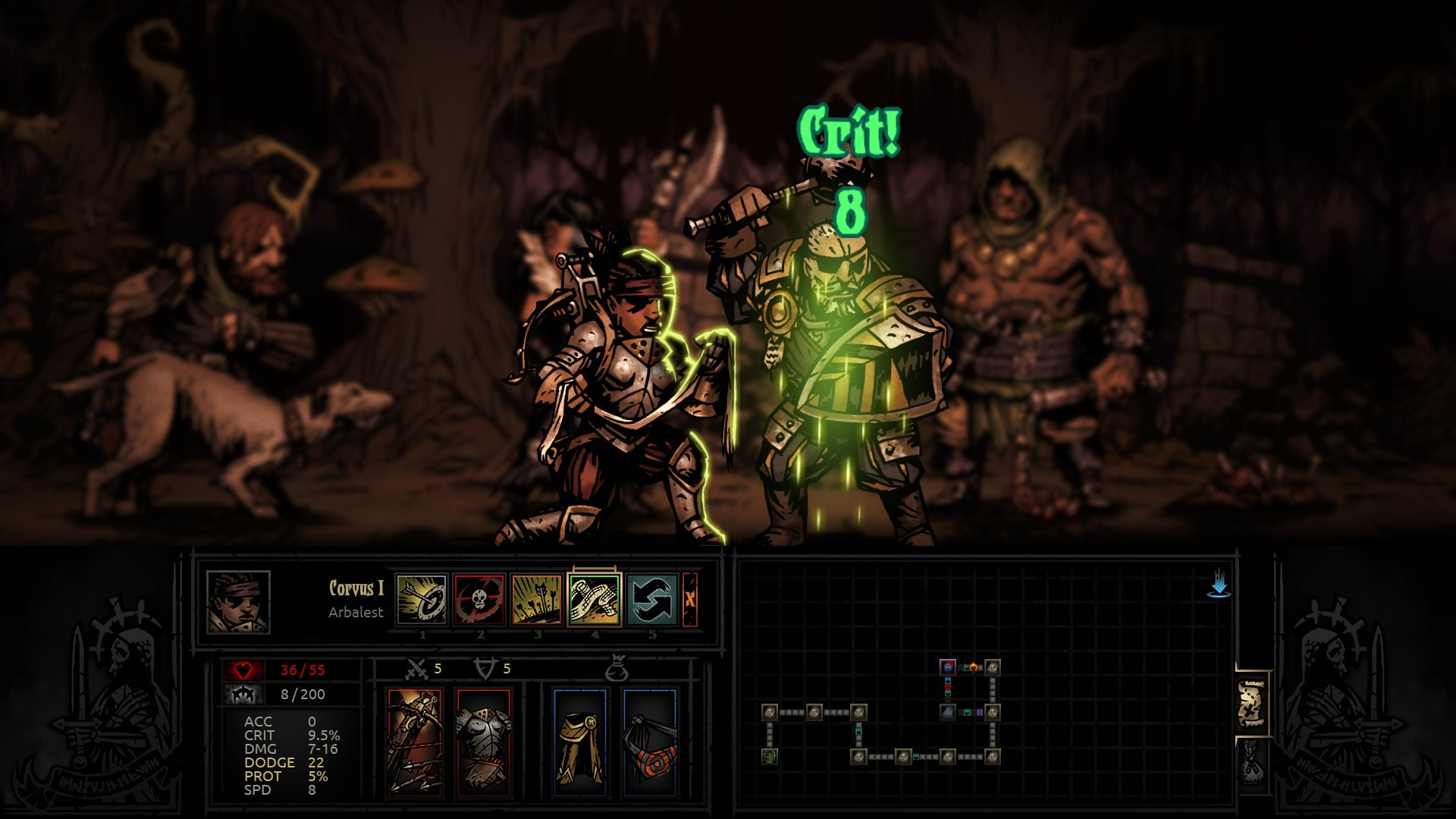 Darkest Dungeon: Man-at-Arms Wallpapers hd