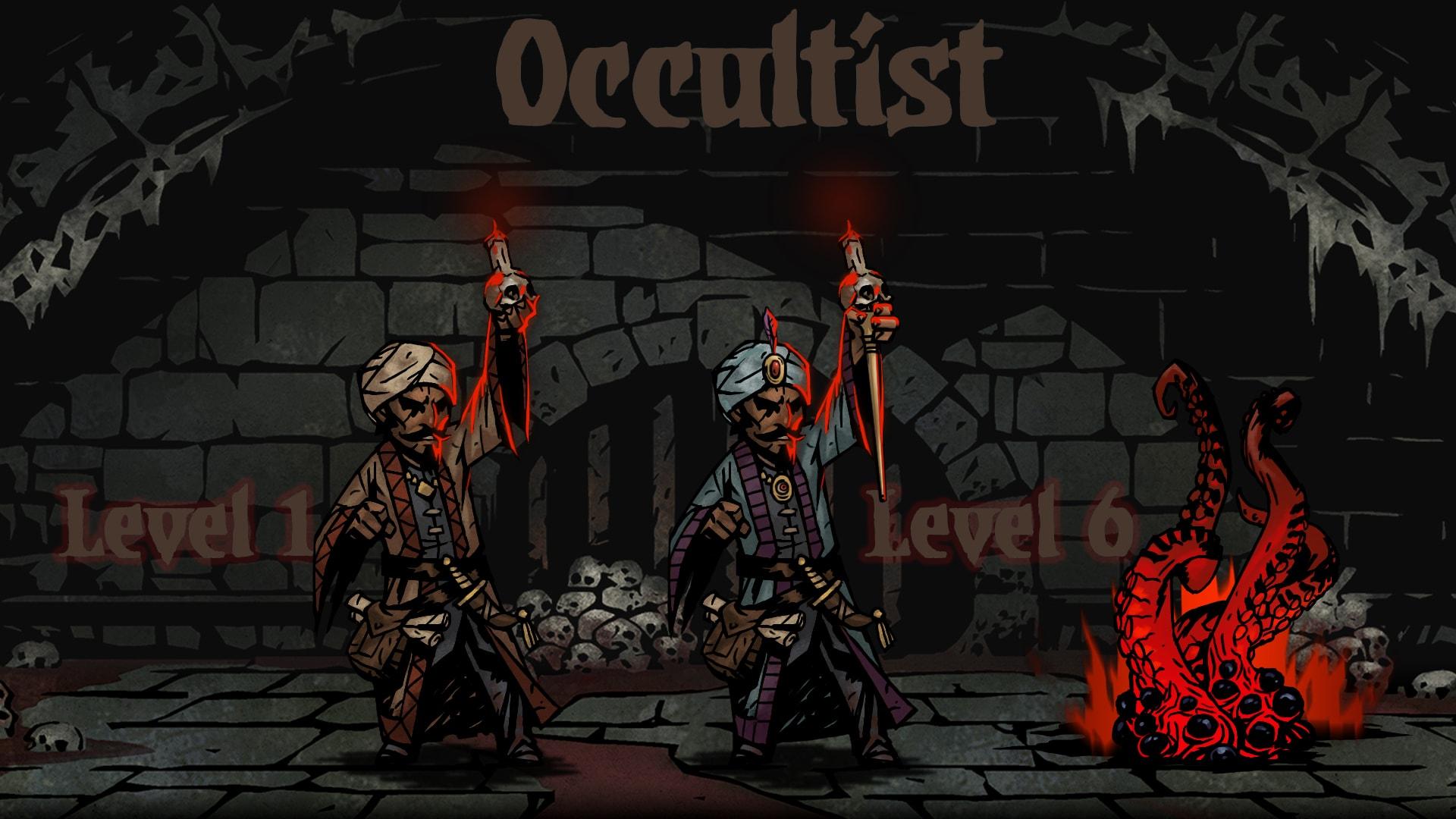Darkest Dungeon: Occultist Desktop wallpapers