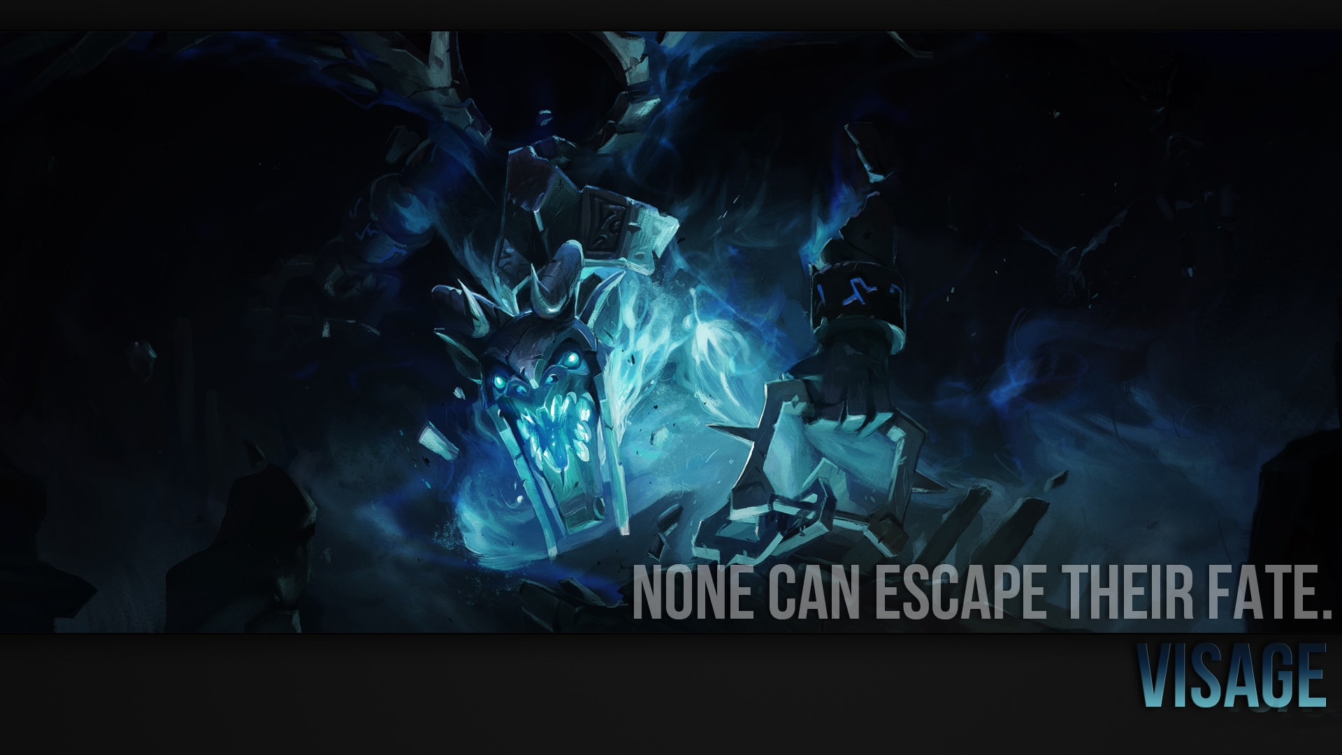 Dota 2 : Visage backgrounds