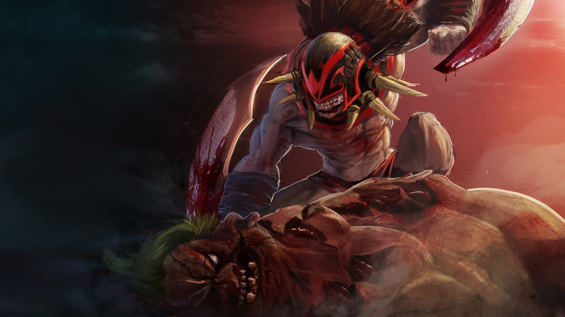 Dota2 : Bloodseeker Wallpaper