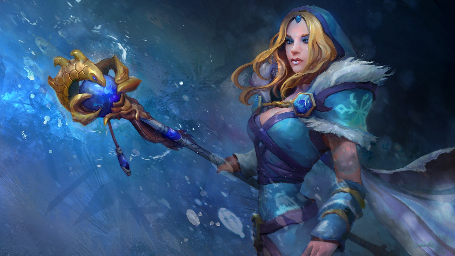 Dota2 : Crystal Maiden Pictures