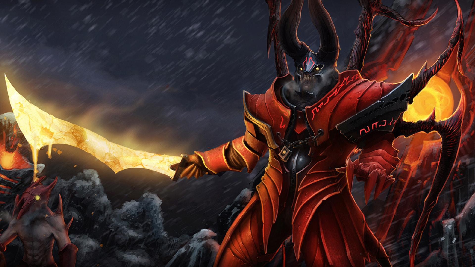 Dota2 : Doom Wallpaper