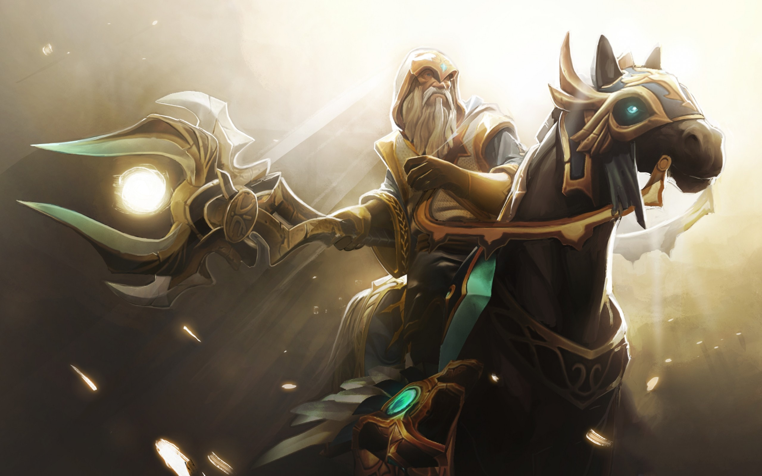 Dota2 : Keeper Of The Light Wallpaper