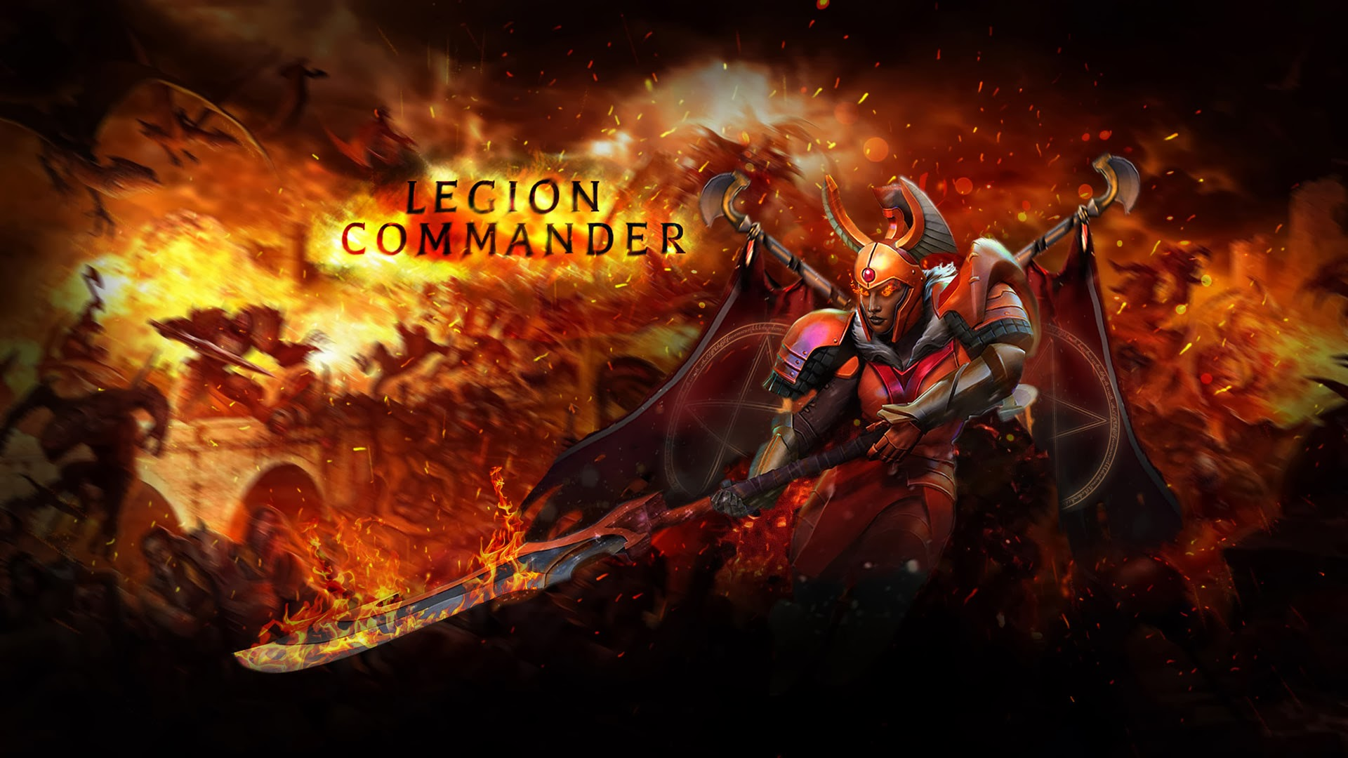 Dota2 : Legion Commander Pictures