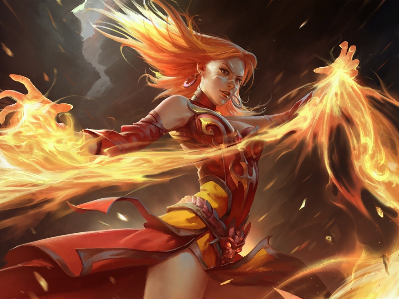 Dota2 : Lina Desktop wallpapers