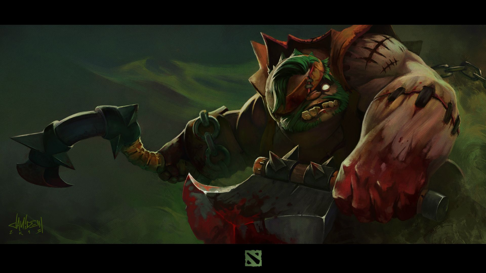 Dota2 : Pudge Wallpaper