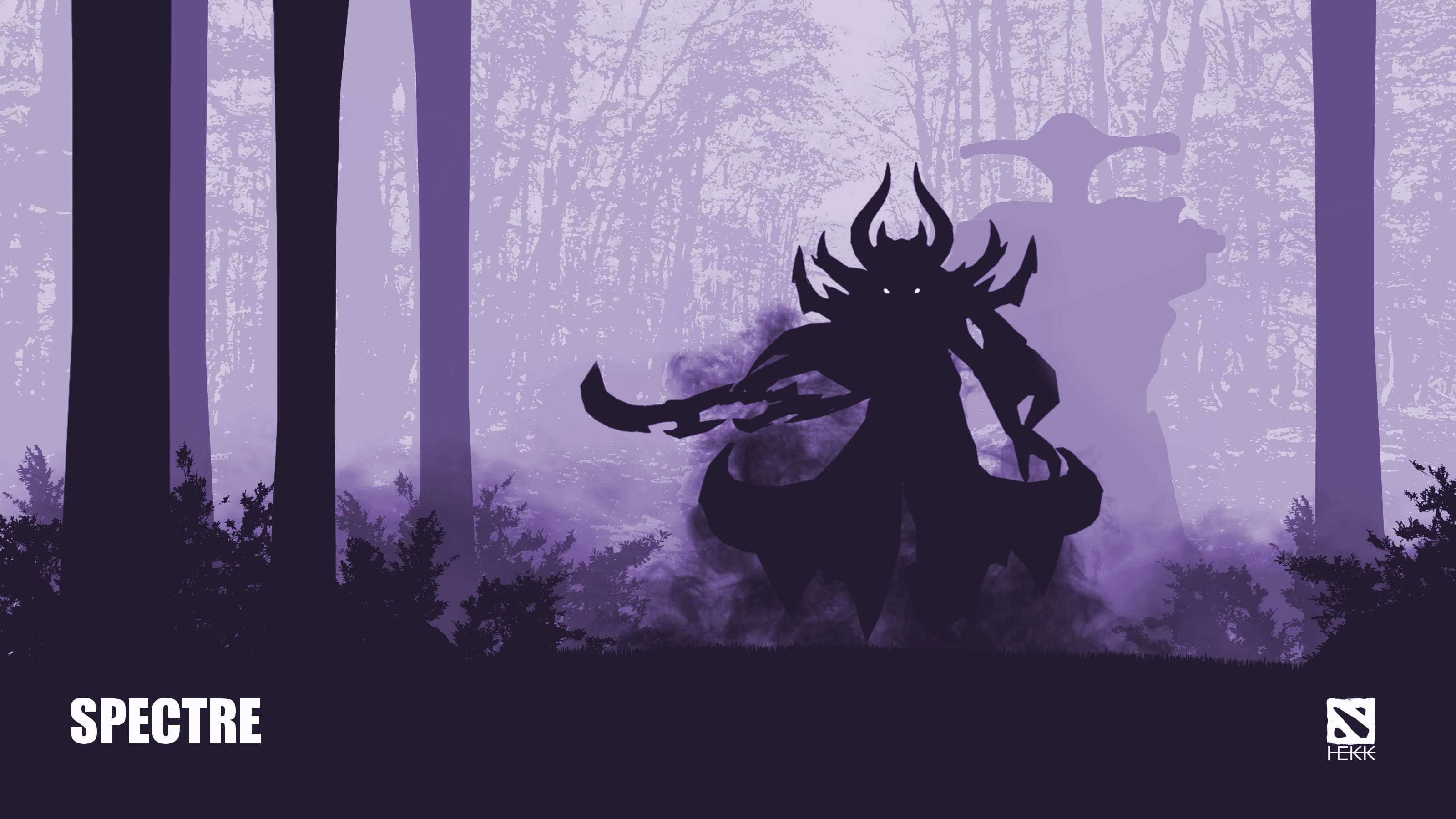 Dota2 : Spectre Wallpaper