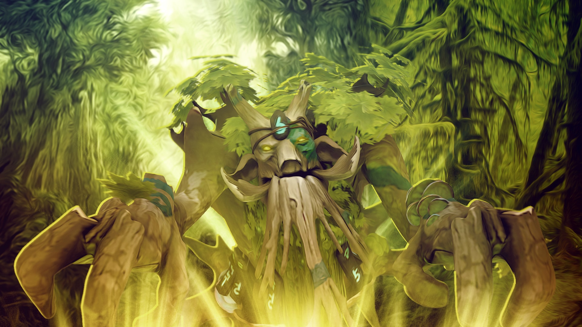 Dota2 : Treant Protector Pictures