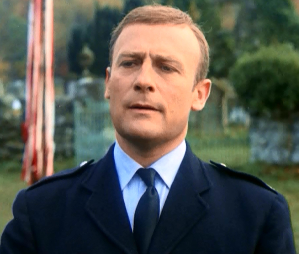Edward Woodward Background
